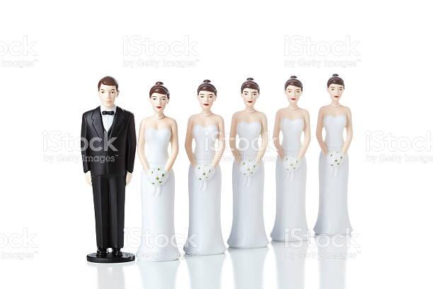 Polygamy (polygyny) image via iStock images